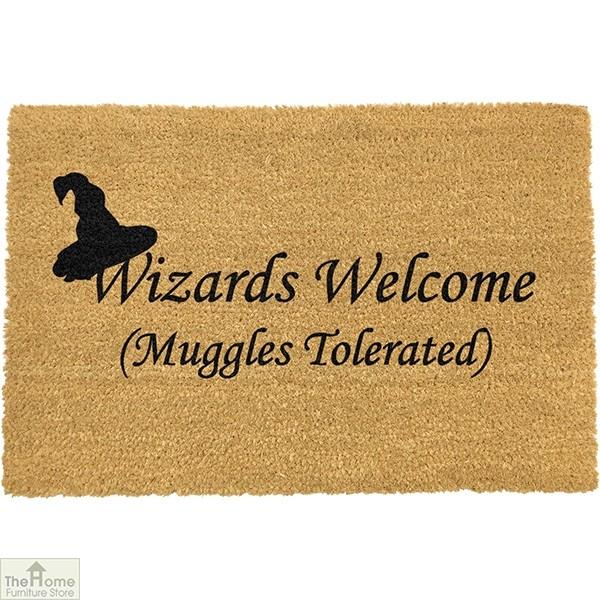 Wizards Welcome, Muggles Tolerated Doormat