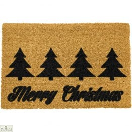 Merry Christmas Greeting Doormat