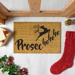 Prosec Ho Ho Ho Christmas Doormat_1