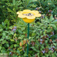 Yellow Petal Bird Feeder
