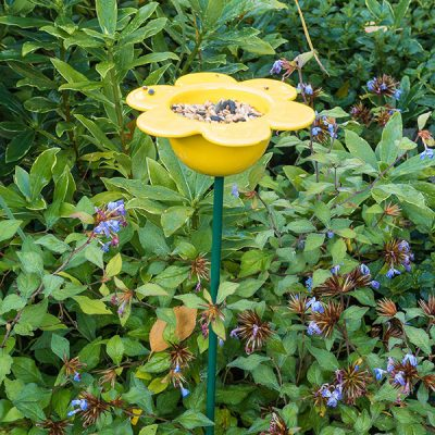 Yellow Petal Bird Feeder_1