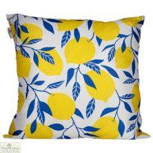 Lemon Design Square Cushion