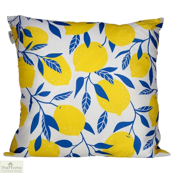 Lemon Design Square Cushion