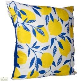 Lemon Design Square Cushion_1