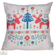 Scandi Design Christmas Cushion