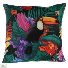 Toucan Tropical Design Square Cushion