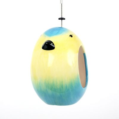 Ceramic Blue Tit Bird Feeder_5