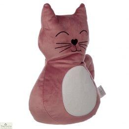 Pink Cat Doorstop_1
