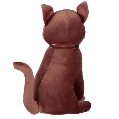 Sitting Brown Cat Doorstop_2
