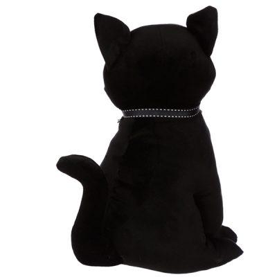Sitting Black Cat Doorstop_2