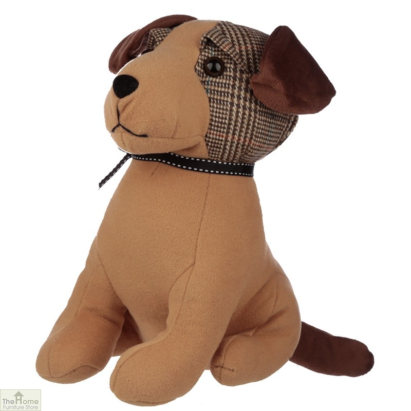 Tweed Dog Doorstop