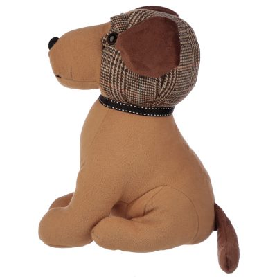 Tweed Dog Doorstop_3