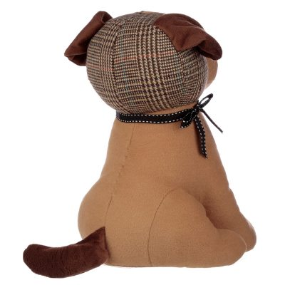 Tweed Dog Doorstop_2