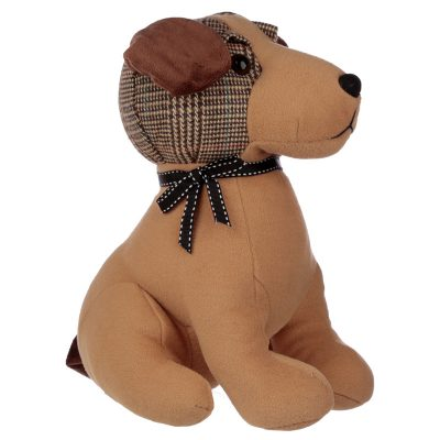 Tweed Dog Doorstop_1
