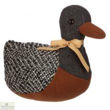 Tweed Duck Doorstop