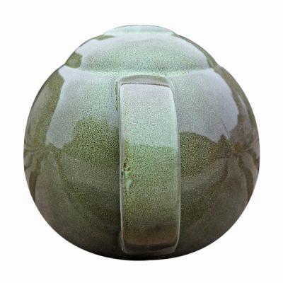Green Ceramic Teapot Bird Nester_7