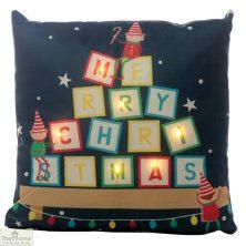 Elf LED Light Christmas Cushion
