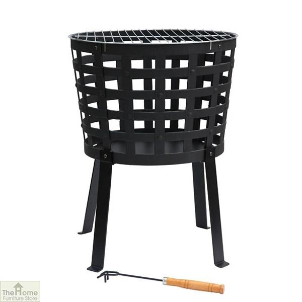 Aragon Cast Iron Fire Basket