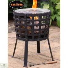 Aragon Cast Iron Fire Basket