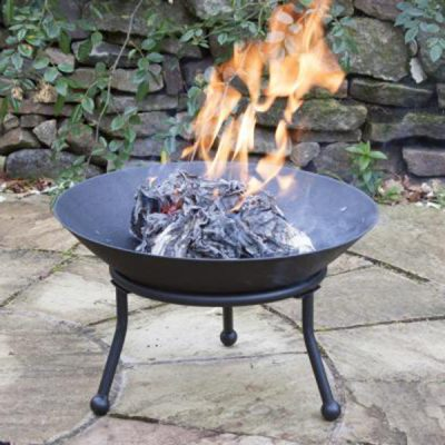Small Cast Iron Fire Bowl_1
