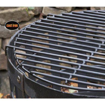 Aragon Cast Iron Fire Basket_2