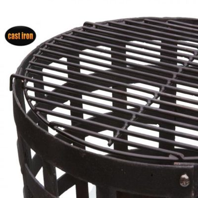 Aragon Cast Iron Fire Basket_4