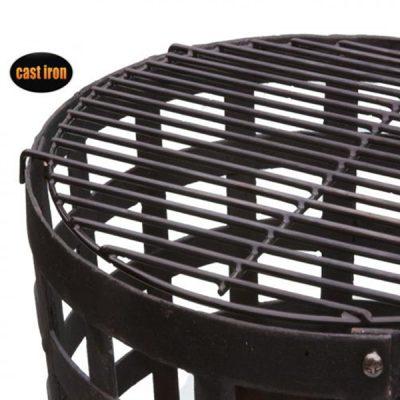 Aragon Cast Iron Fire Basket_4