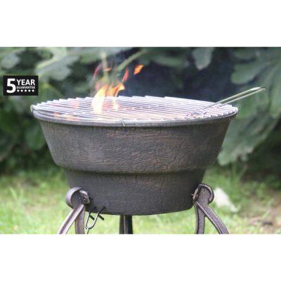 Safir Cast Iron Firepit_2
