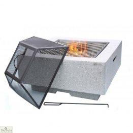 Cubo Square MGO Firepit