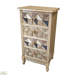 Marrakesh 4 Drawer Tallboy