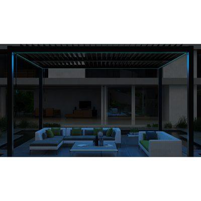 Casamoré Aluminium Pergola with LED Lighting_1