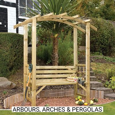 Arbours Arches & Pergolas