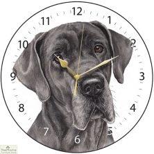 Great Dane Dog Print Wall Clock