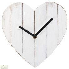 Heart Shaped Wall Clock