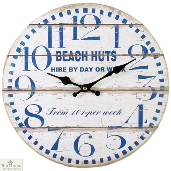 Shabby Chic Beach Wall Clock