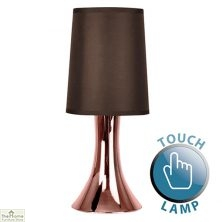 Touch Desk Table Lamp Brown