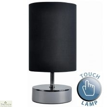 Touch Desk Table Lamp Black