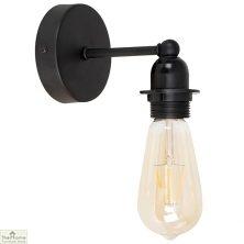 Black Indoor Wall Light