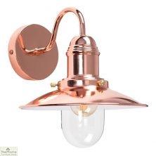 Fishermans Wall Light Lantern Copper