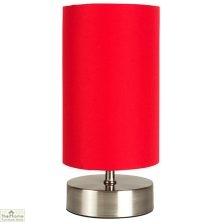 Touch Desk Table Lamp Red