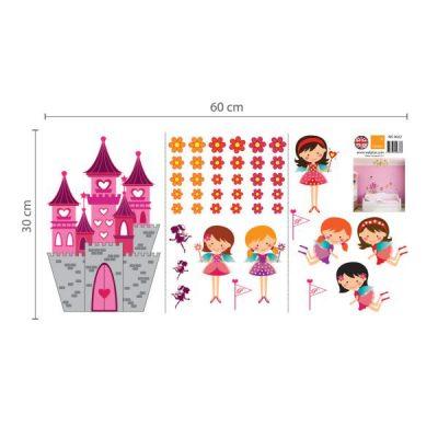 Fairy Castle Wall Sticker_5