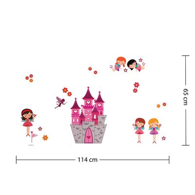 Fairy Castle Wall Sticker_4