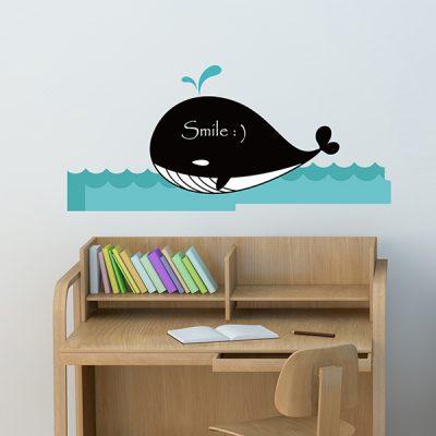 Whale Chalkboard Wall Sticker_1