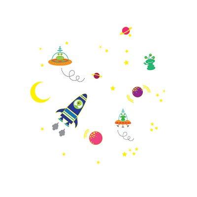 Glowing Space Wall Sticker_1