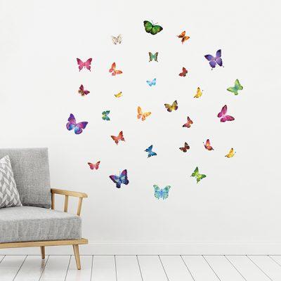 28 Butterflies Wall Sticker_2