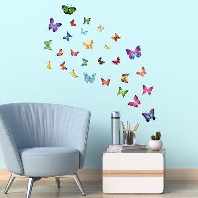 28 Butterflies Wall Sticker_1