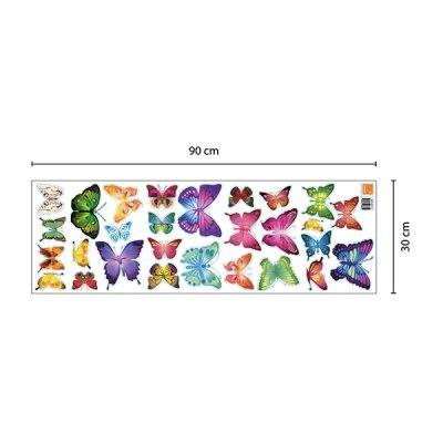 28 Butterflies Wall Sticker_3