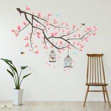 Cherry Blossom Tree Wall Sticker
