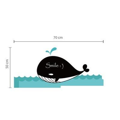 Whale Chalkboard Wall Sticker_2
