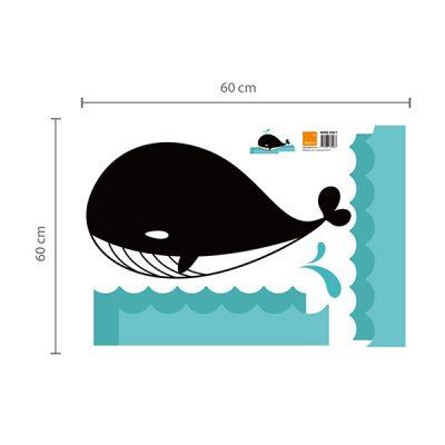 Whale Chalkboard Wall Sticker_3